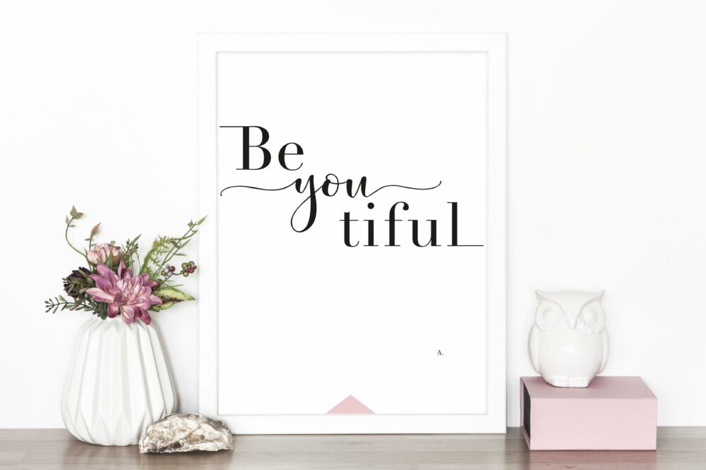 EA Design Beyoutiful Art Print