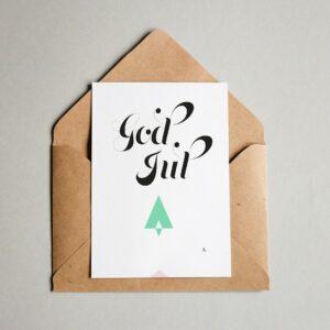 EA Design God Jul Julkort