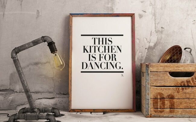 EA. Design This Kitchen is for dancing