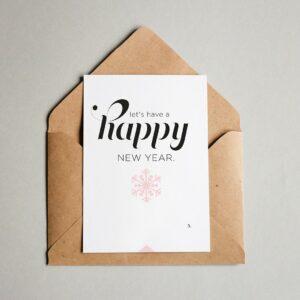 EA Design - Happy New Year Julkort