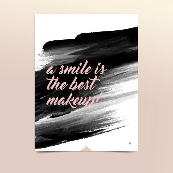 EA-Design-a-smile-is-the-best-makeup-kort