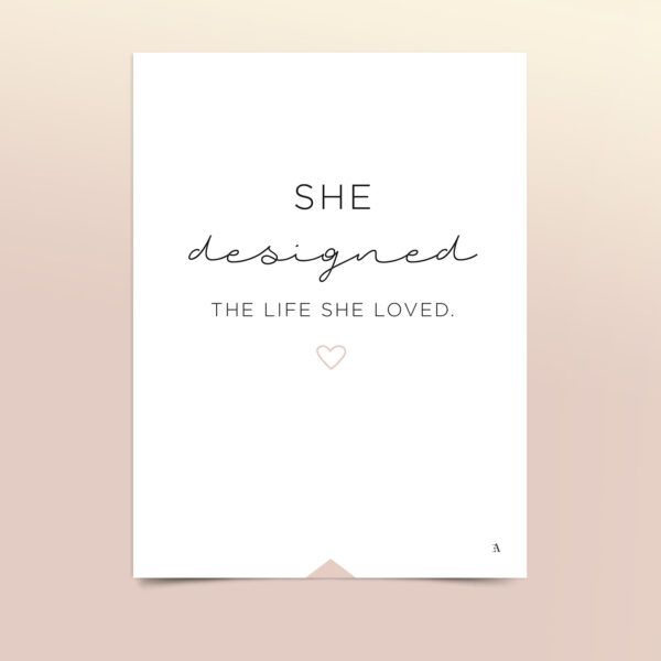 EA-Design-She-designed-the-life-she-loved-Kort