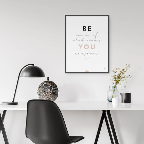 EA-Design-Be-more-of-what-makes-you awesome Poster